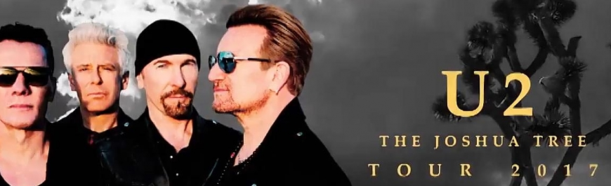 U2 European Tour mit Noel Gallaghers HFB als Support!